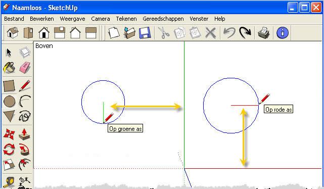 Les 7 tekenen in sketchup 3 swotster for 3d tekenen op computer