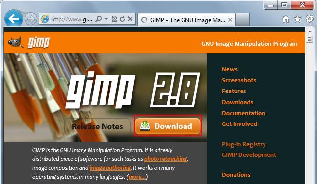 Lesson 1: Installing GIMP - Swotster