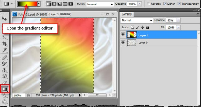 how to delete only one color in photoshop