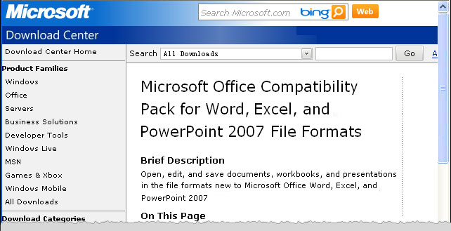 Upgrade from Word 2007 to Office 365