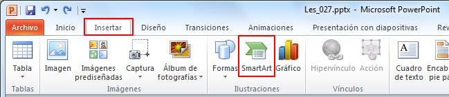smartart powerpoint